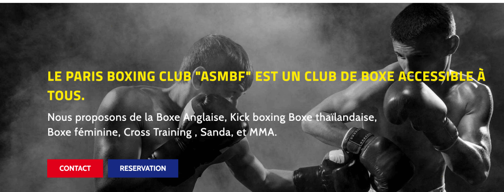 ASMBF club de box paris
