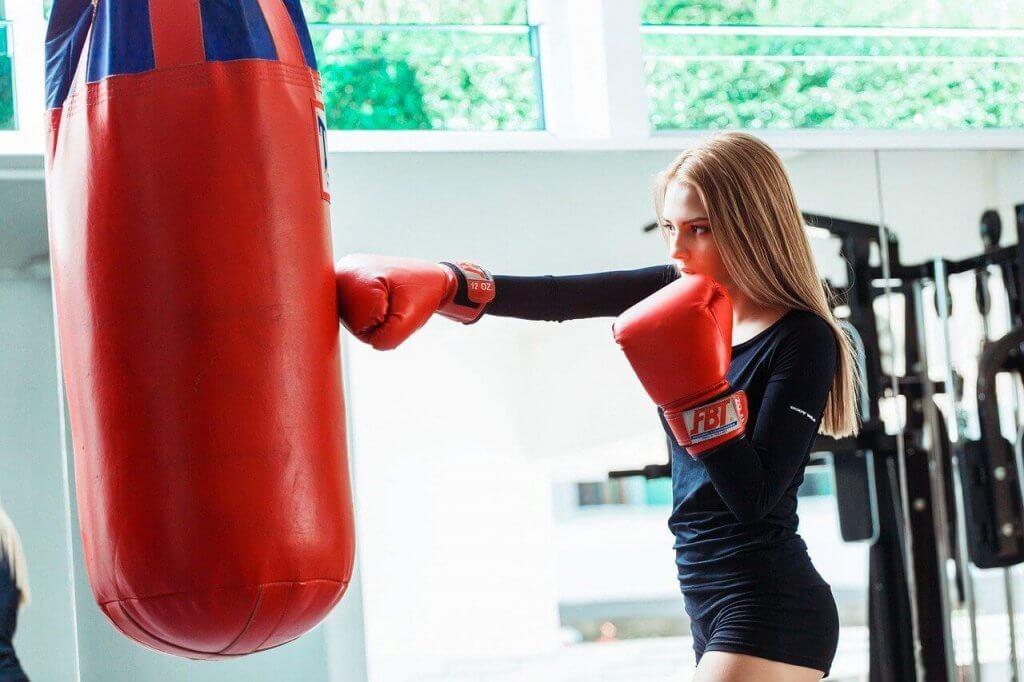 club de boxe pour femmes