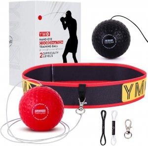 YMX BOXING Reflex Ball - Accessoire de Sport d'entrainement de Réflexe